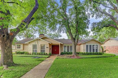 Houston Single Family Home For Sale: 8018 Skyline Drive