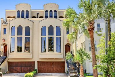 Houston Condo/Townhouse For Sale: 4127 Drake Street #B