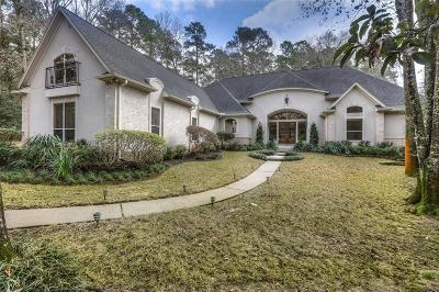 Conroe Single Family Home For Sale: 7350 Teaswood Drive