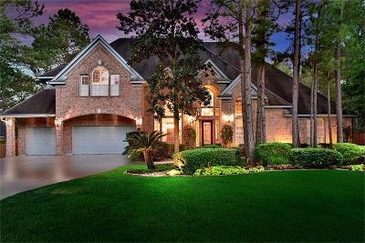 The Woodlands Single Family Home For Sale: 7 Cane Mill Place