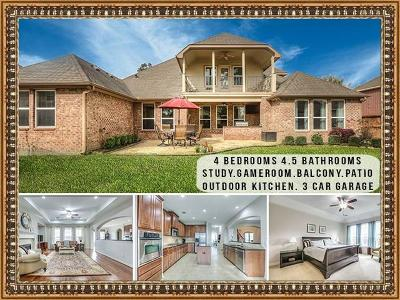 Humble Single Family Home For Sale: 14610 Woodside Crossing Lane