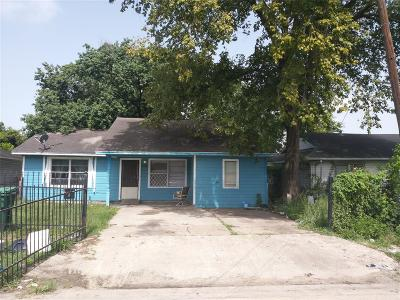 Houston Single Family Home For Sale: 5706 Chaffin Street
