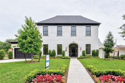 Houston Single Family Home For Sale: 3219 Banbury Place
