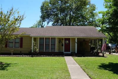 Sealy Single Family Home For Sale: 410 5th Street