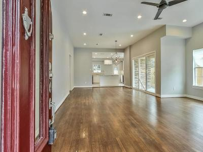 Houston Single Family Home For Sale: 2910 Barbee Street