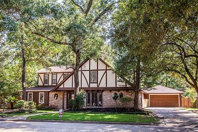 Kingwood Single Family Home For Sale: 3110 Cedar Knolls Drive