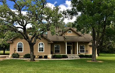 Round Top Single Family Home For Sale: 350 Nassau Road