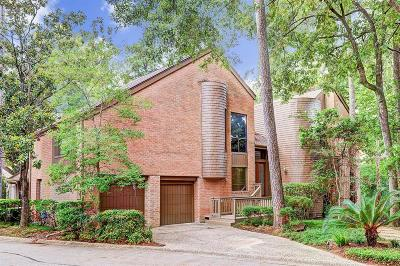 Houston Condo/Townhouse For Sale: 58 Sugarberry Circle