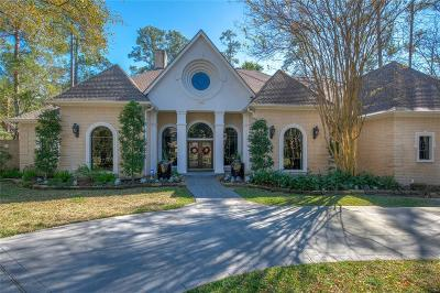 The Woodlands Single Family Home For Sale: 38 Waterford Bend