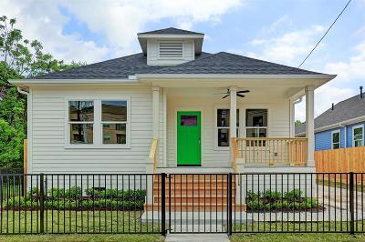 Houston Single Family Home For Sale: 2010 Freeman Street