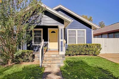 Houston Single Family Home For Sale: 5315 Bell Street
