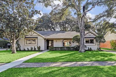 Houston Single Family Home For Sale: 5543 Wigton Drive