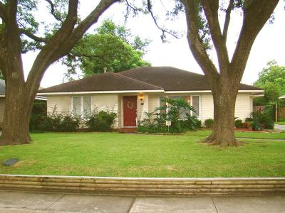 Houston Single Family Home For Sale: 3139 Castlewood Street