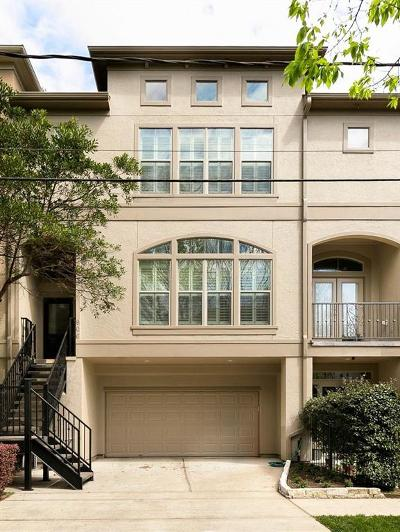 Galveston County, Harris County Condo/Townhouse For Sale: 906 Reinicke Street