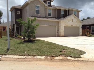 Conroe Multi Family Home For Sale: 217 Oakcrest # A & B Oakcrest