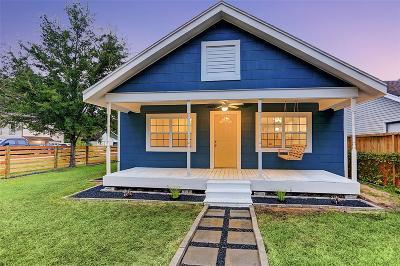 Houston Single Family Home For Sale: 4401 Hain Street
