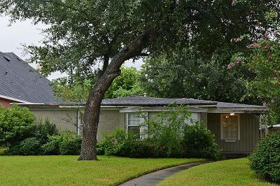 Houston Single Family Home For Sale: 3855 Gramercy