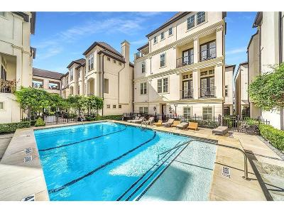 Houston Condo/Townhouse For Sale: 739 Live Oak Street