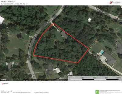 Montgomery County Farm & Ranch For Sale: 14093 Cecala