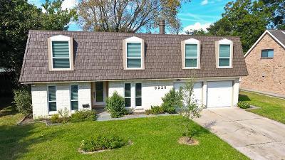 Houston Single Family Home For Sale: 9226 Rockhurst Drive