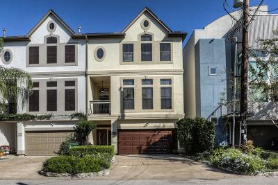 Houston Condo/Townhouse For Sale: 802 Malone Street #D