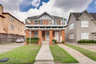 Houston Multi Family Home For Sale: 2514 Kingston Street