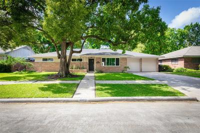 Houston Single Family Home For Sale: 5415 Grape Street