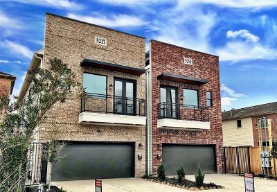 Houston Single Family Home For Sale: 5217 Cornish