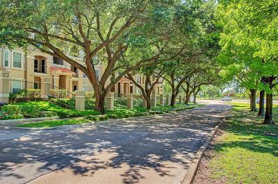 Houston Condo/Townhouse For Sale: 3231 Allen Parkway #6102