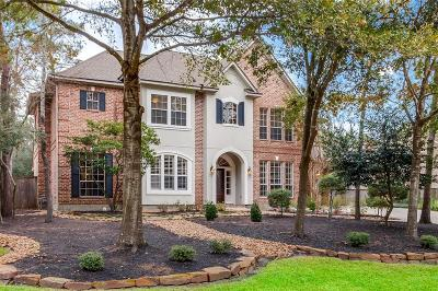 The Woodlands Single Family Home For Sale: 50 Noble Bend Drive