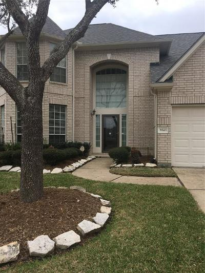 Sugar Land Single Family Home For Sale: 5543 Cranston Court
