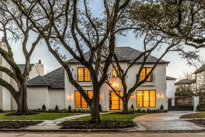 Houston Single Family Home For Sale: 3826 Meadow Lake Lane