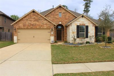 Conroe Single Family Home For Sale: 1547 Jacobs Forest Drive