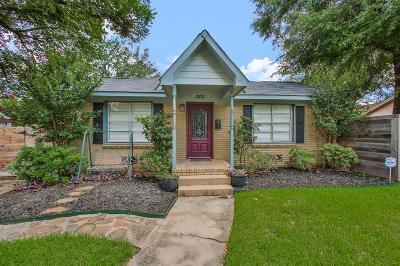 Houston Single Family Home For Sale: 305 Kelley Street