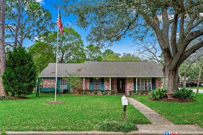 Alvin Single Family Home For Sale: 124 E Larkspur Drive