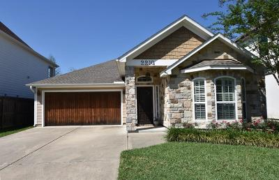 Houston Single Family Home For Sale: 2210 Eclipse Street