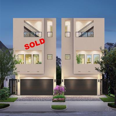 Houston Single Family Home For Sale: 2114 McDuffie Street