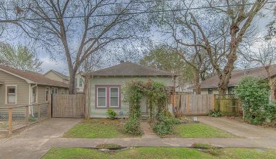 Houston Single Family Home For Sale: 1512 Lawrence Street