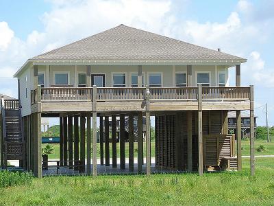 Port Bolivar Single Family Home For Sale: 4304 Bolivar Circle