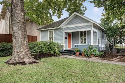 Houston Single Family Home For Sale: 1432 Ashland Street