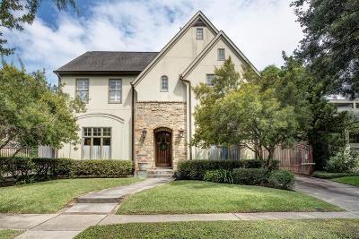 West University Place Single Family Home For Sale: 2916 Robinhood Street