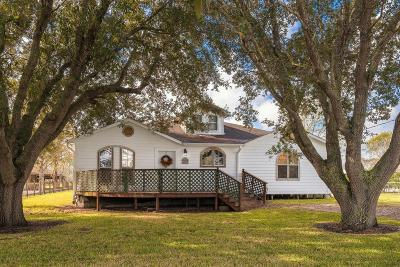 Manvel Single Family Home For Sale: 10702 Hanselman Road