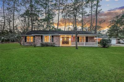 Conroe Single Family Home For Sale: 2406 Carriage Ridge Lane