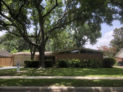 Houston Single Family Home For Sale: 5602 Spellman Road