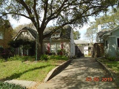 Houston Single Family Home For Sale: 1812 Marshall Street