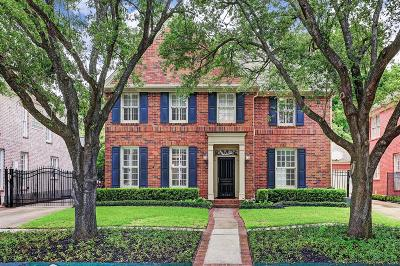 Houston Single Family Home For Sale: 6728 Brompton Road