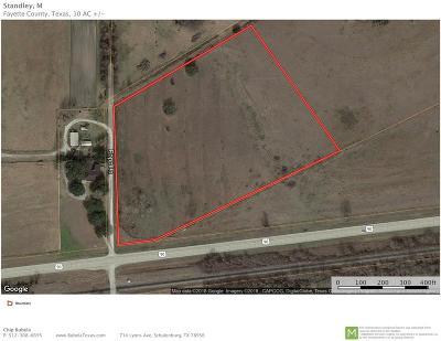 Fayette County Farm & Ranch For Sale: Popp Lane