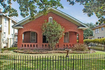 Houston Single Family Home For Sale: 3206 Morrison Street