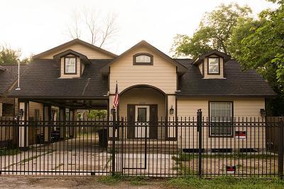 Houston TX Single Family Home For Sale: $199,000