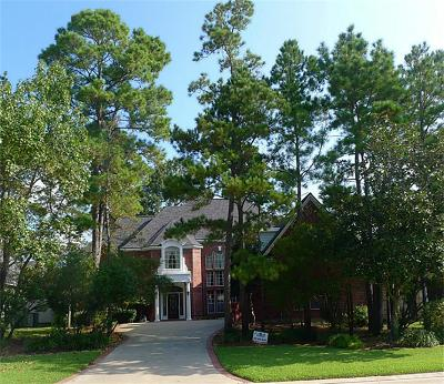 The Woodlands Single Family Home For Sale: 166 Capstone Circle